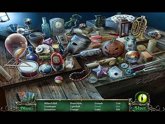 9 Clues: The Secret of Serpent Creek Mac Game screenshot 1