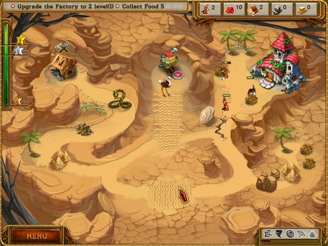 A Gnome's Home: The Great Crystal Crusade Mac Game screenshot 2