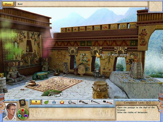 Alabama Smith in the Quest of Fate Mac Game screenshot 1