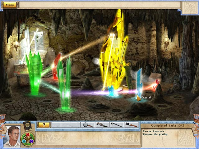 Alabama Smith in the Quest of Fate Mac Game screenshot 2