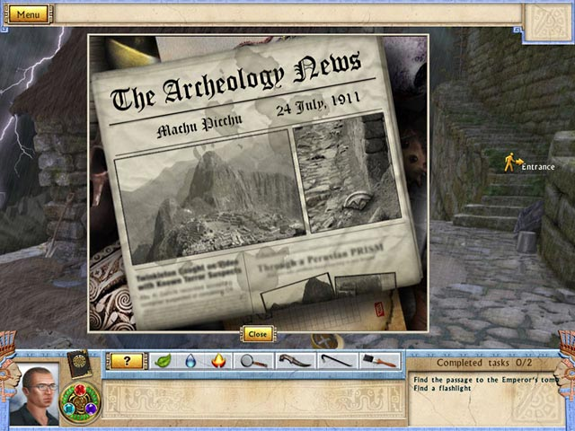 Alabama Smith in the Quest of Fate Mac Game screenshot 3