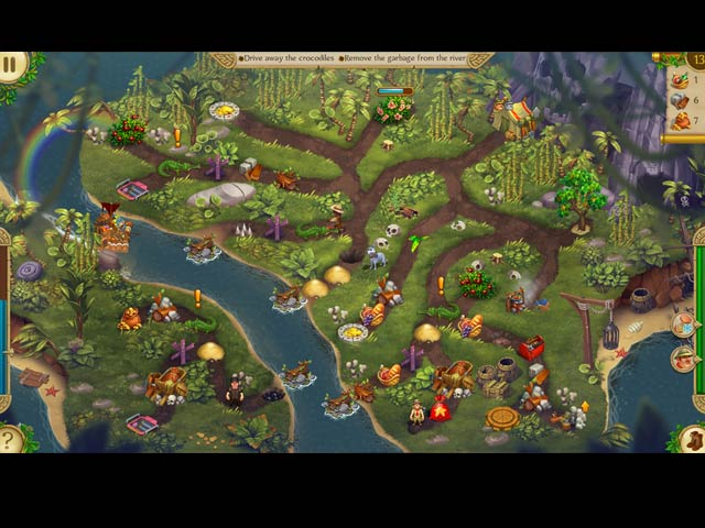 Alicia Quatermain 3: The Mystery of the Flaming Gold Mac Game screenshot 1