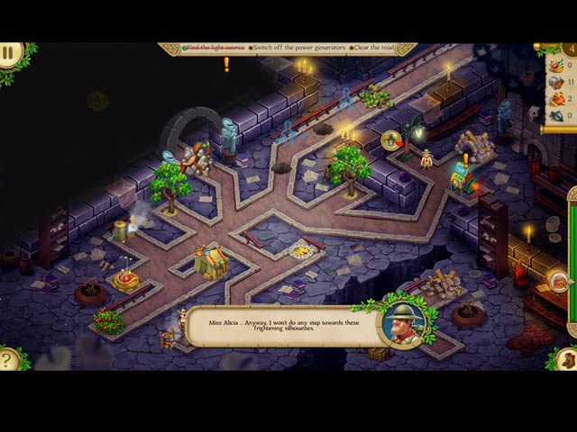 Alicia Quatermain 3: The Mystery of the Flaming Gold Mac Game screenshot 3