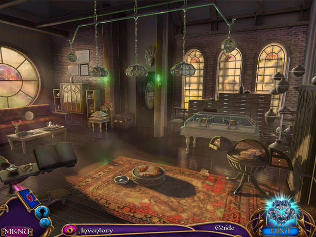 Amaranthine Voyage: The Living Mountain Collector's Edition Mac Game screenshot 1