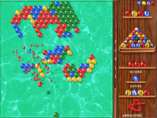 Bubble Snooker Mac Game screenshot 1