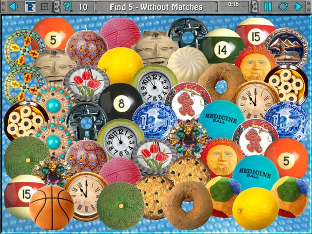 Clutter IV: Minigame Madness Tour Mac Game screenshot 1