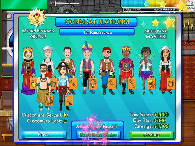 Costume Chaos Mac Game screenshot 4