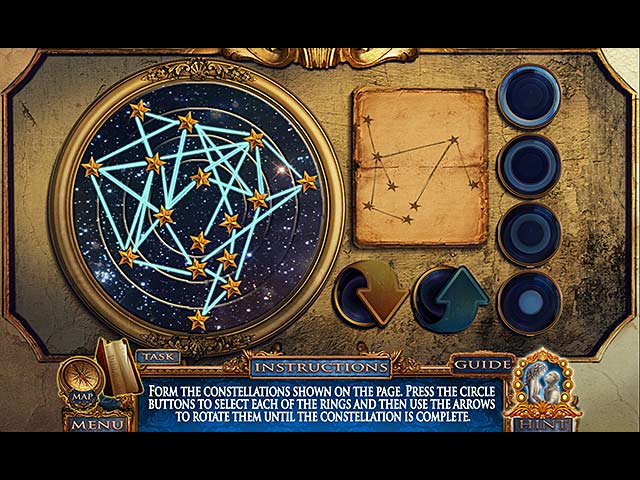 Dark Canvas: Blood and Stone Collector's Edition Mac Game screenshot 3