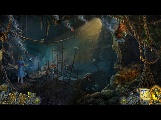 Dark Tales: Edgar Allan Poe's The Devil in the Belfry Collector's Edition Mac Game screenshot 1