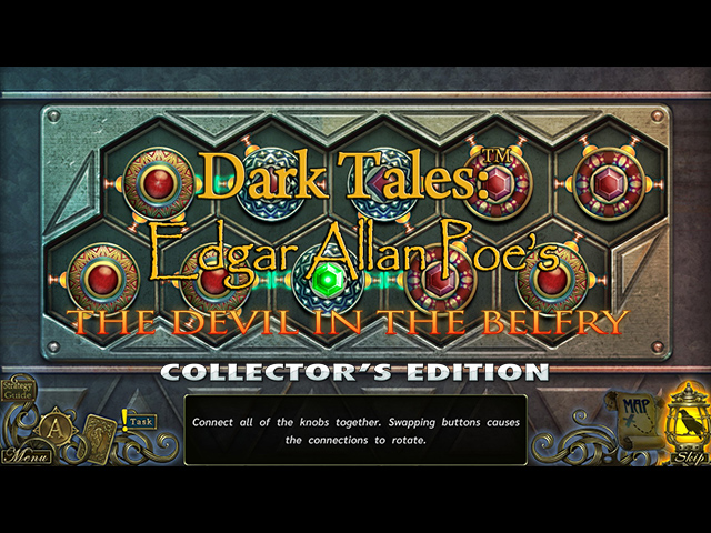 Dark Tales: Edgar Allan Poe's The Devil in the Belfry Collector's Edition Mac Game screenshot 3