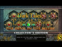 Dark Tales: Edgar Allan Poe's The Devil in the Belfry Collector's Edition for Mac Games screenshot 3