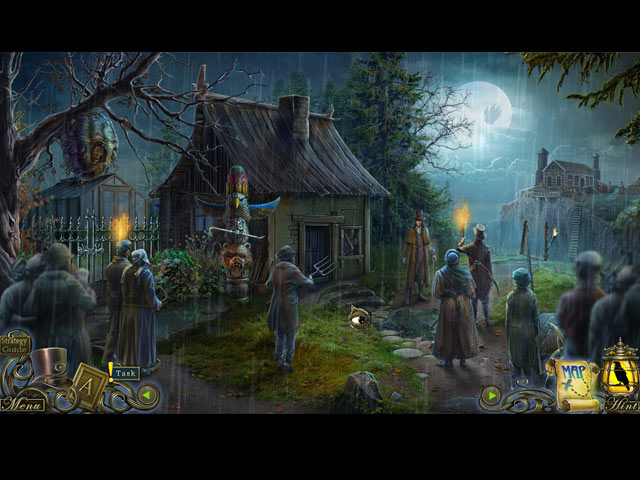 Dark Tales: Edgar Allan Poe's The Oval Portrait Collector's Edition Mac Game screenshot 1