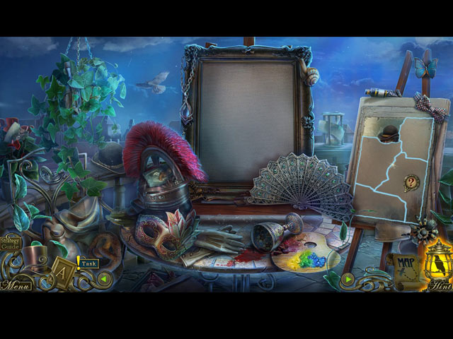 Dark Tales: Edgar Allan Poe's The Oval Portrait Collector's Edition Mac Game screenshot 2