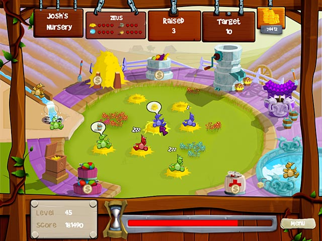 Dragon Hatchery Mac Game screenshot 1