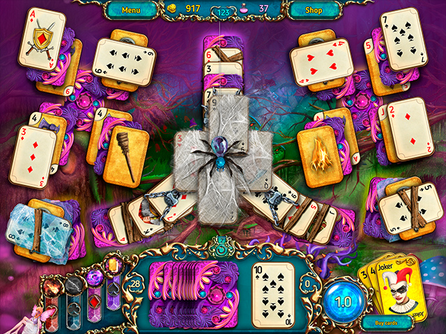 Dreamland Solitaire: Dark Prophecy Collector's Edition Mac Game screenshot 1