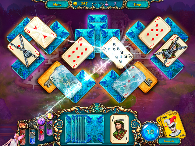Dreamland Solitaire: Dark Prophecy Collector's Edition Mac Game screenshot 2