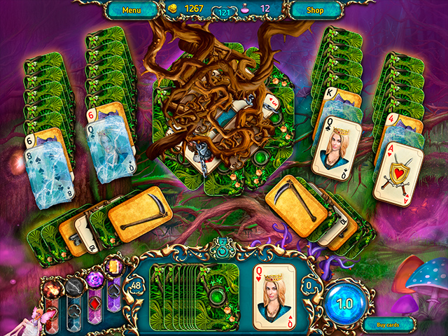 Dreamland Solitaire: Dark Prophecy Collector's Edition Mac Game screenshot 3