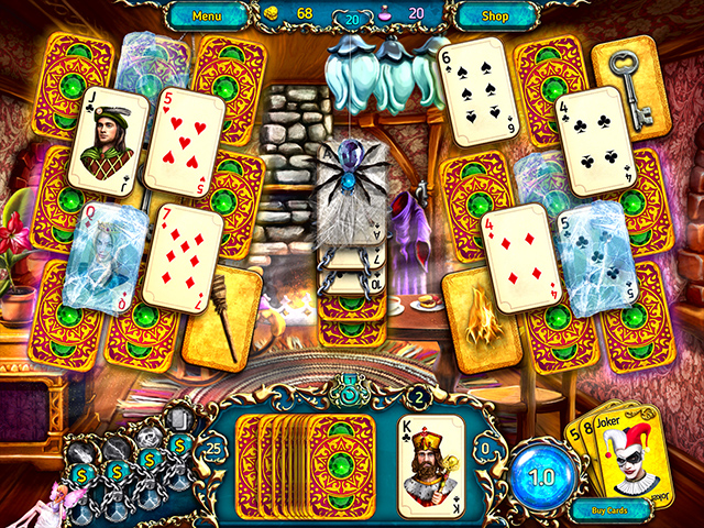 Dreamland Solitaire: Dragon's Fury Mac Game screenshot 1