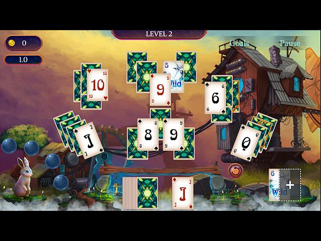 Dreams Keeper Solitaire Mac Game screenshot 1