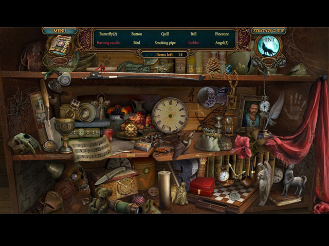 Echoes of the Past: Wolf Healer Collector's Edition Mac Game screenshot 1