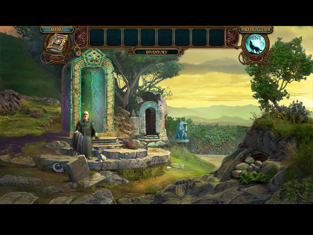 Echoes of the Past: Wolf Healer Collector's Edition Mac Game screenshot 2