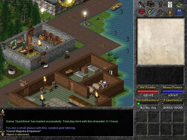 Eschalon: Book 1 Mac Game screenshot 1