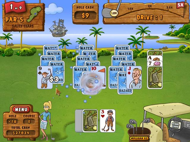 Fairway Solitaire Mac Game screenshot 3
