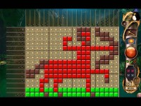Free Fantasy Mosaics 11: Fleeing from Dinosaurs Mac Game Download