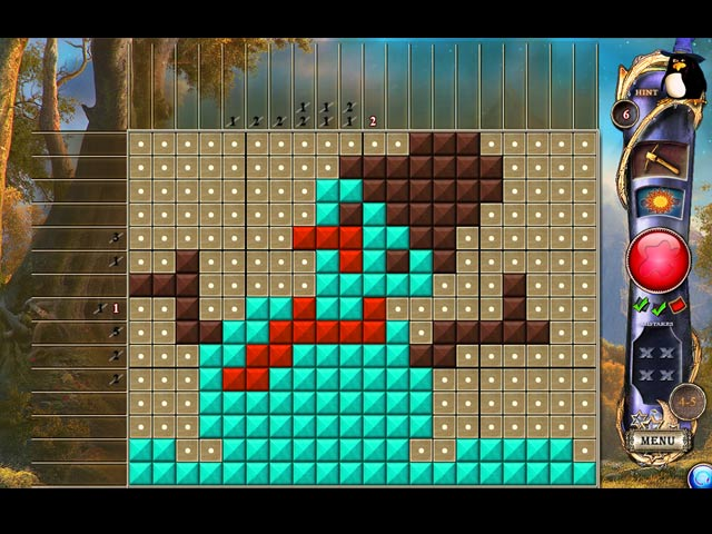 Fantasy Mosaics 12: Parallel Universes Mac Game screenshot 1