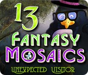 Free Fantasy Mosaics 13: Unexpected Visitor Mac Game