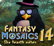 Free Fantasy Mosaics 14: Fourth Color Mac Game