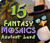 Free Fantasy Mosaics 15: Ancient Land Mac Game