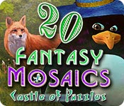 Free Fantasy Mosaics 20: Castle of Puzzles Mac Game