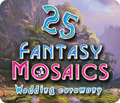 Free Fantasy Mosaics 25: Wedding Ceremony Mac Game