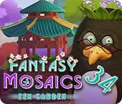 Free Fantasy Mosaics 34: Zen Garden Mac Game