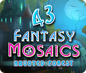 Free Fantasy Mosaics 43: Haunted Forest Mac Game