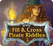 Free Fill and Cross Pirate Riddles 3 Mac Game