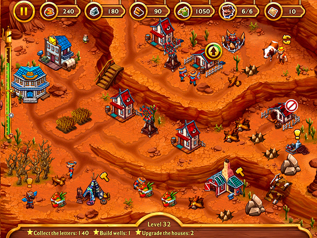 Golden Rails: Tales of the Wild West Mac Game screenshot 3