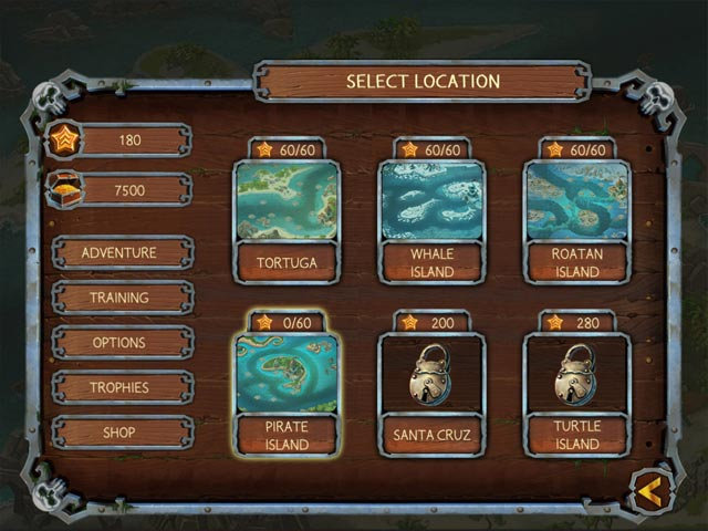 Griddlers Legend Of The Pirates Mac Game screenshot 2