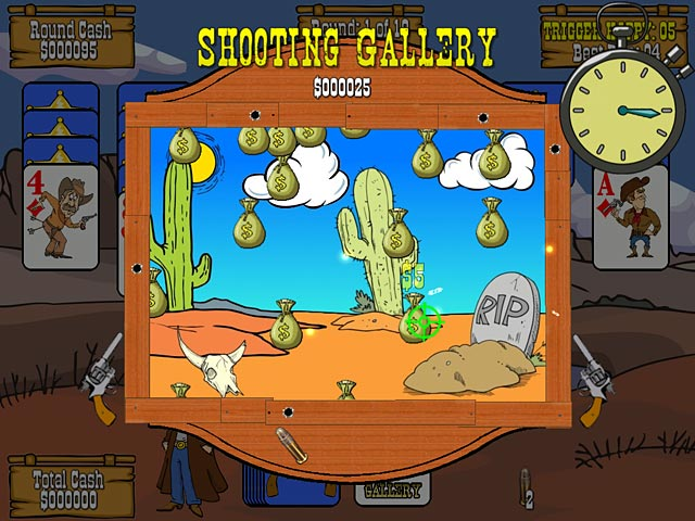 Gunslinger Solitaire Mac Game screenshot 2
