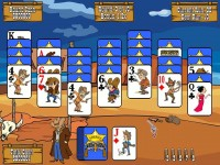 Gunslinger Solitaire for Mac Game screenshot 1