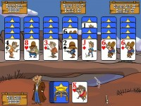 Gunslinger Solitaire for Mac Games screenshot 3