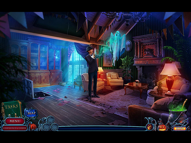 Halloween Chronicles: Cursed Family Collector's Edition Mac Game screenshot 1