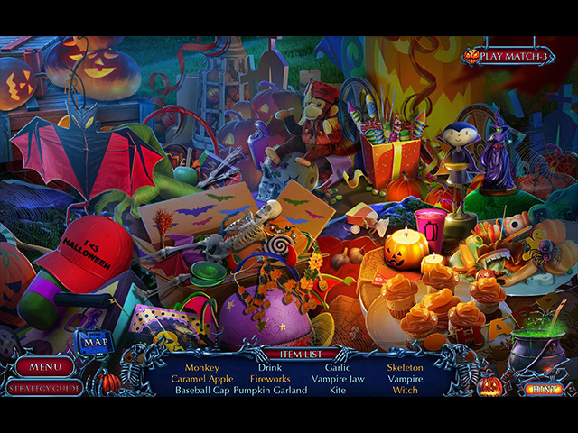 Halloween Chronicles: Cursed Family Collector's Edition Mac Game screenshot 2