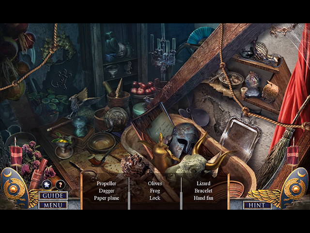 Hidden Expedition: Neptune's Gift Collector's Edition Mac Game screenshot 2