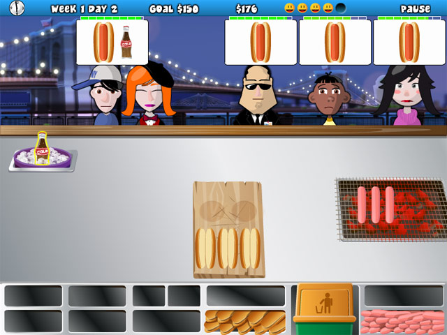 Hotdog Hotshot Mac Game screenshot 3