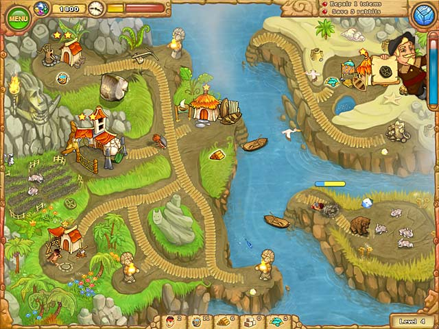 Island Tribe 3 Mac Game screenshot 3