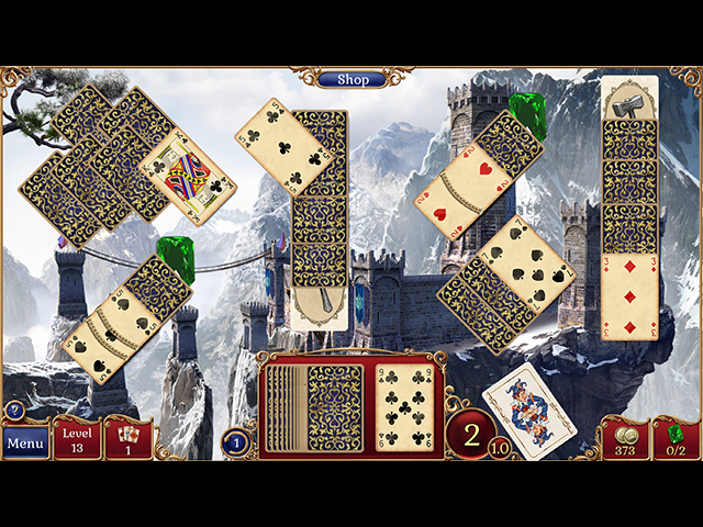 Jewel Match Solitaire 2 Collector's Edition Mac Game screenshot 1