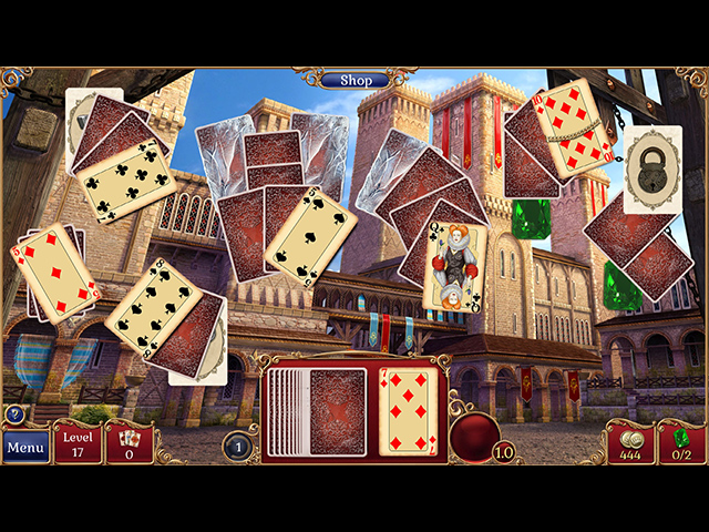 Jewel Match Solitaire 2 Collector's Edition Mac Game screenshot 2