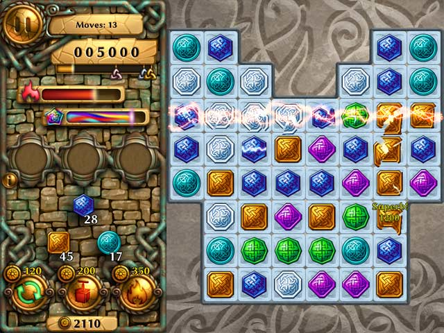 Jewel Tree: Match It Mac Game screenshot 1
